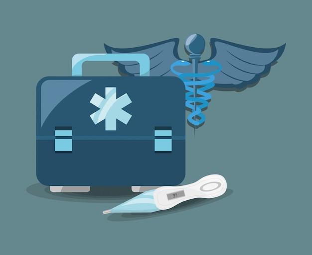 Medische dienst Premium Vector
