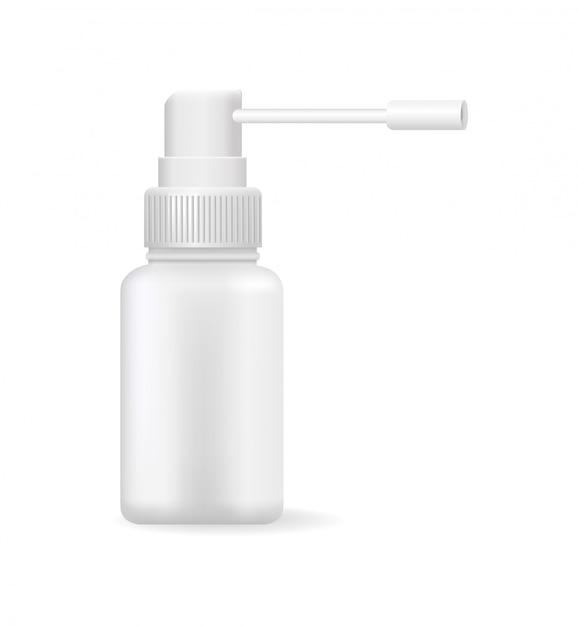 Medische middelen in bright bottle vector illustration Premium Vector
