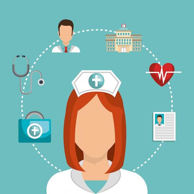 Medische zorg Gratis Vector