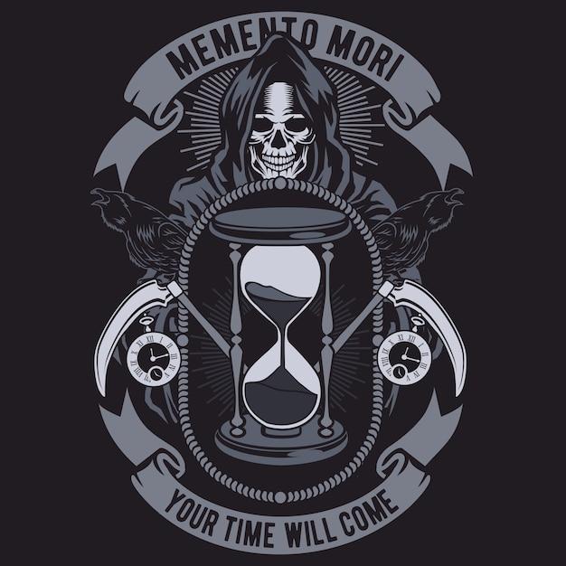 Memento mori Premium Vector