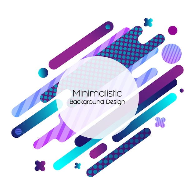 Memphis motion design Premium Vector