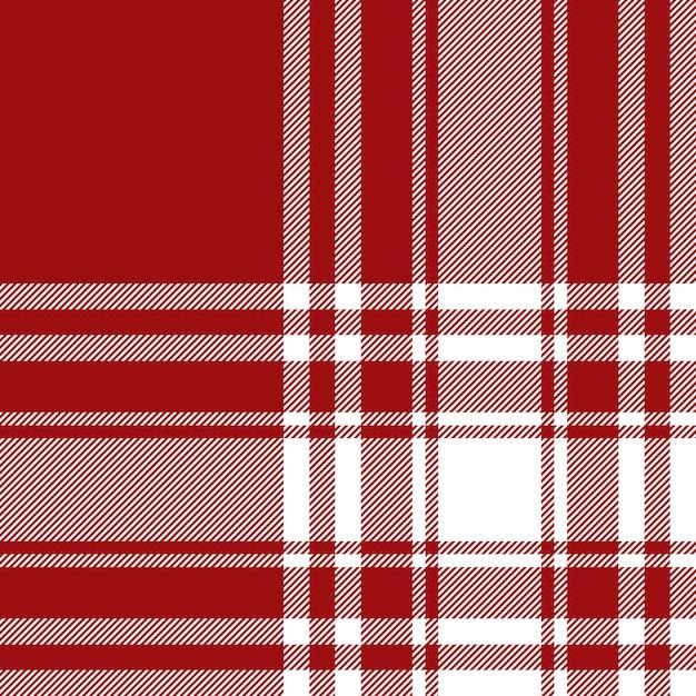 Menzies tartan rode kilt stof textuur naadloze patroon achtergrond Premium Vector