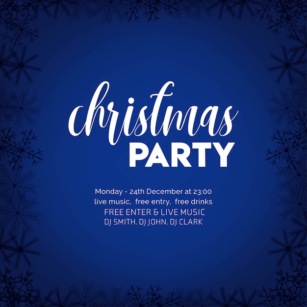 Merry christmas 2019 achtergrond Gratis Vector