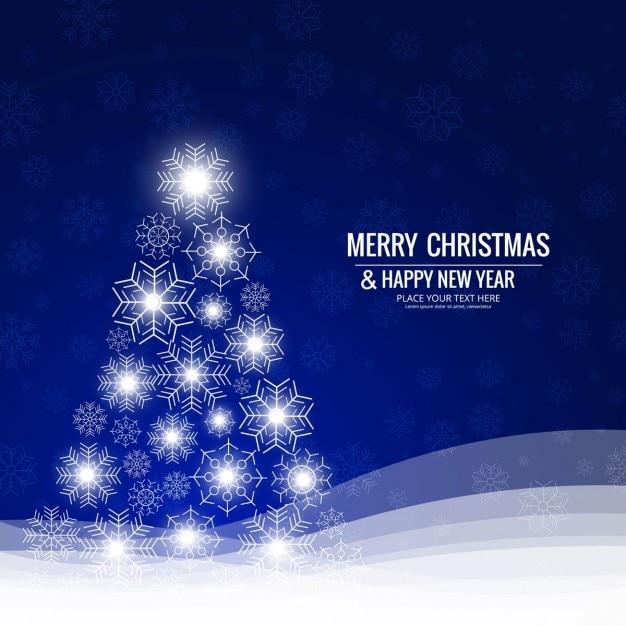 Merry christmas background Gratis Vector