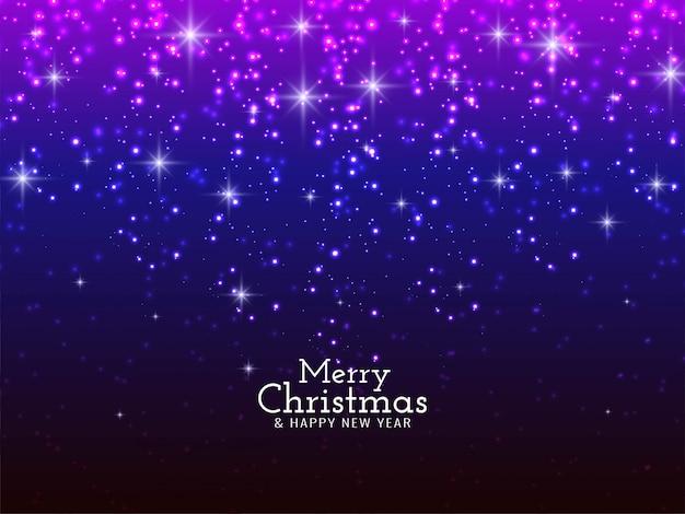 Merry christmas festival fonkelende glitters achtergrond Gratis Vector