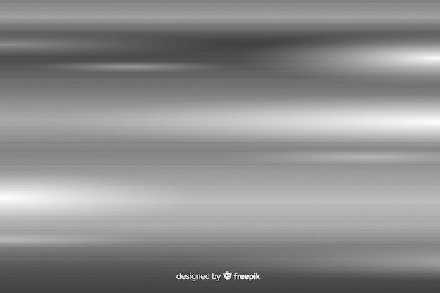 Metalen textuur achtergrond met grijze lijnen Gratis Vector