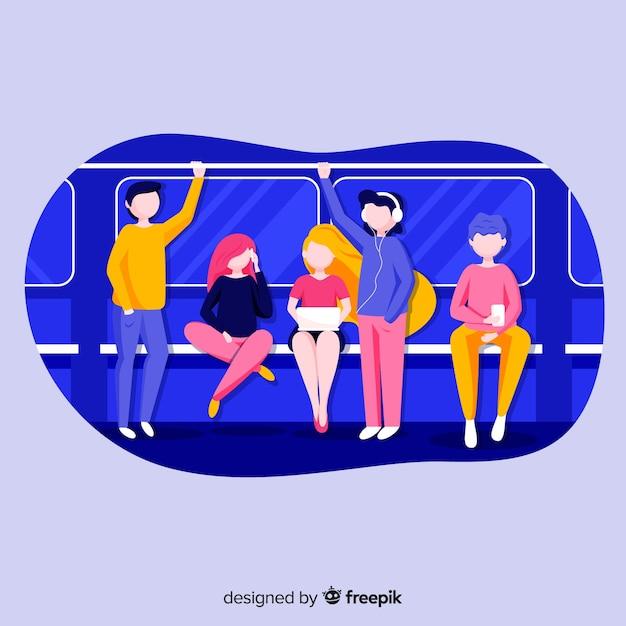Metro Gratis Vector