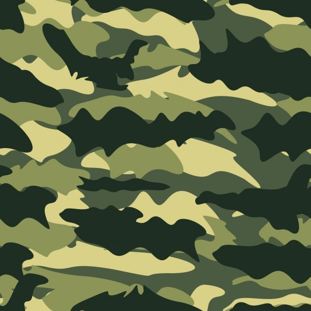 Militaire achtergrond Gratis Vector