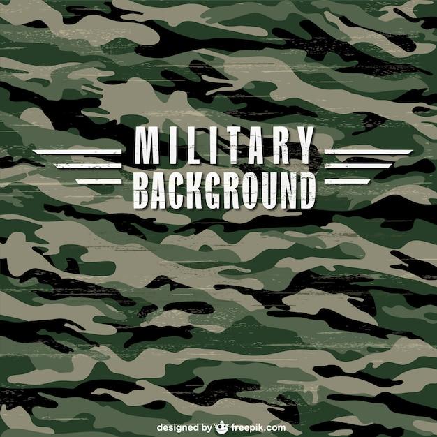 Militaire camouflage textuur Gratis Vector