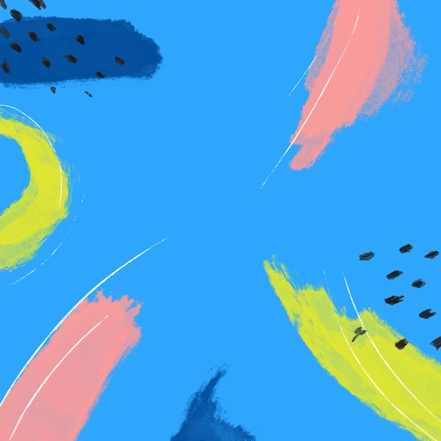 Minimale abstracte achtergrond Gratis Vector