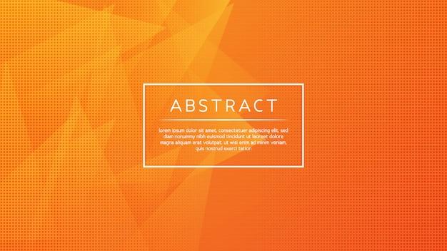 Minimale abstracte driehoekige achtergrond Premium Vector