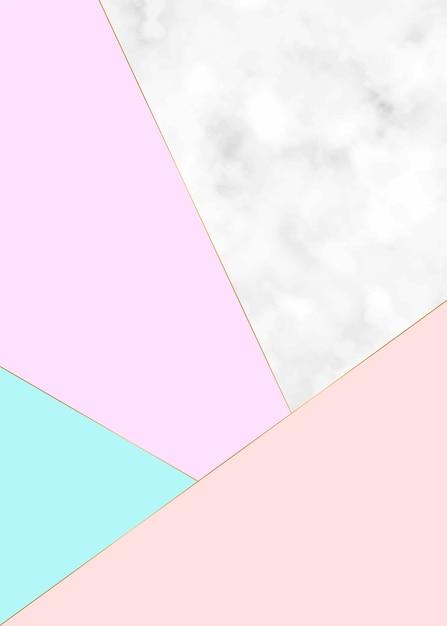 Minimalistisch marmeren textuur vectorontwerp Premium Vector