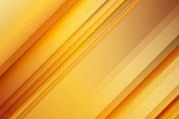 Minimalistische gouden luxe achtergrond Gratis Vector