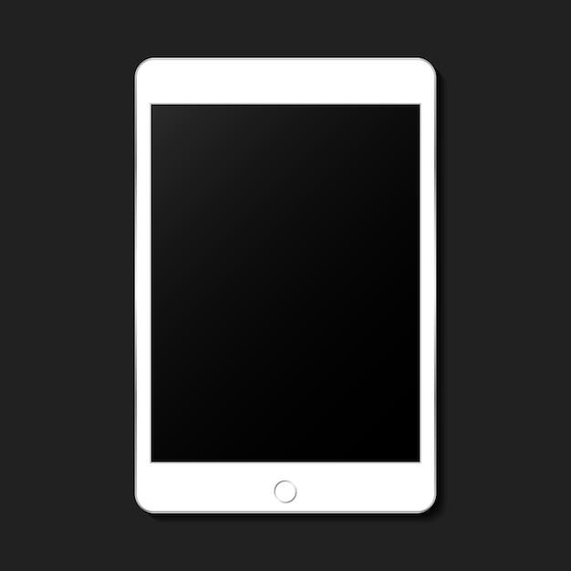 Mockup voor digitaal apparaat Gratis Vector