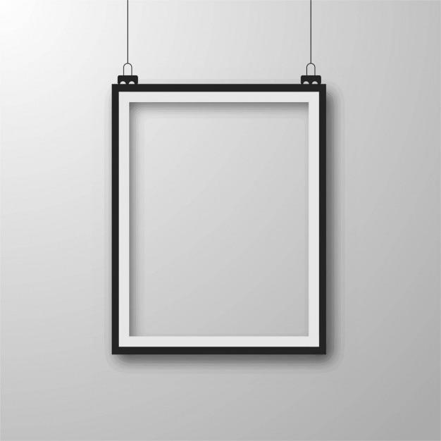 Modern frame achtergrond Gratis Vector