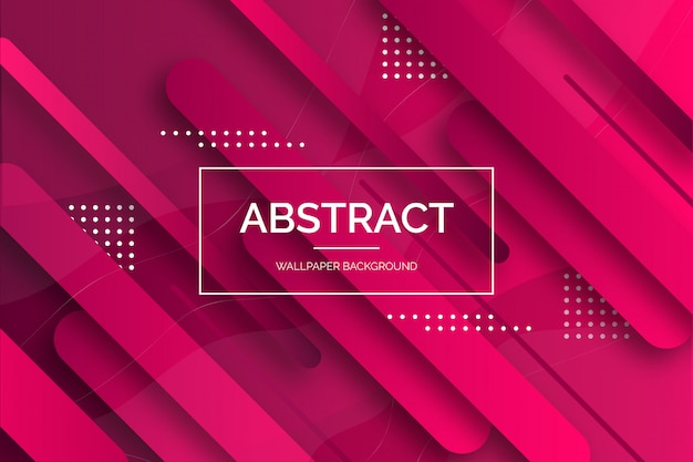 Moderne abstracte behangachtergrond Gratis Vector