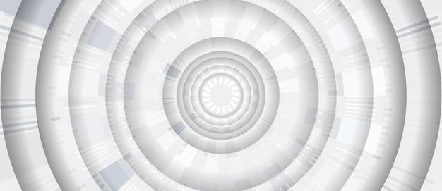 Moderne abstracte futuristische achtergrond Premium Vector