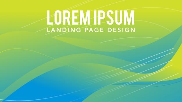 Moderne achtergrond abstract verloop Premium Vector