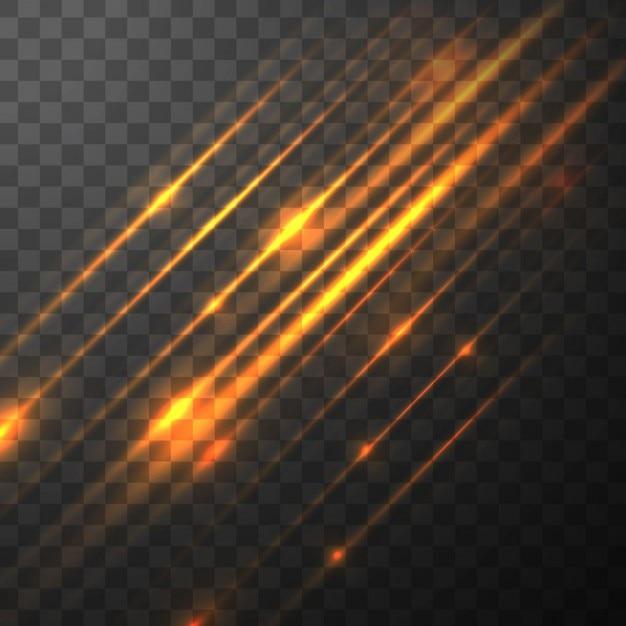 Moderne achtergrond verlichting Gratis Vector