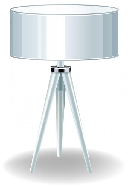 Moderne elektrische lamp Gratis Vector