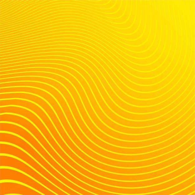 Moderne het patroonachtergrond van de strepen oranje lijn Gratis Vector