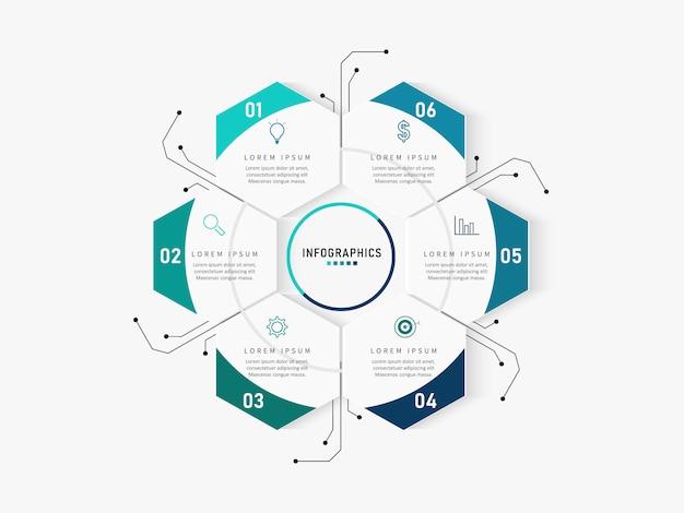 Moderne infographics nummer opties sjabloon. illustratie. kan worden gebruikt voor werkstroomlay-out, diagram, zakelijke stapopties, banner, webdesign. Premium Vector