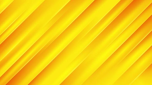 Moderne oranje achtergrond met diagonale lijn. Premium Vector