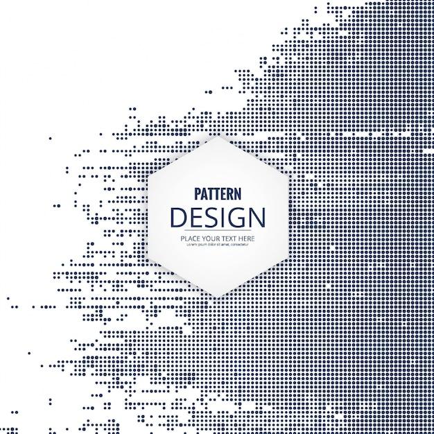 Moderne raster patroon achtergrond Gratis Vector