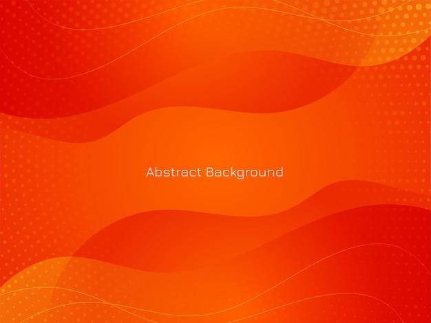Moderne rode kleur golfstijl achtergrond vector Gratis Vector