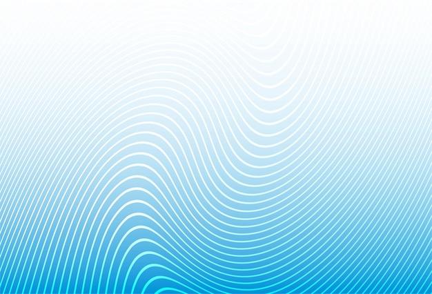 Moderne stijlvolle strepen blauwe lijn patroon achtergrond Gratis Vector