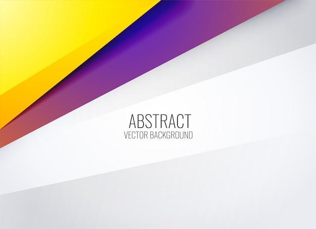 Moderne trendy presentatieachtergrond Gratis Vector
