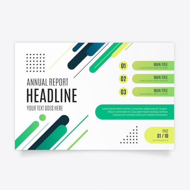 Moderne zakelijke brochure Gratis Vector