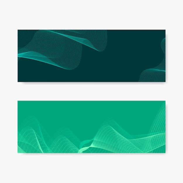 Moiré-patroon achtergrondreeks Gratis Vector
