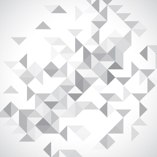 Monochrome laag poly achtergrond Gratis Vector
