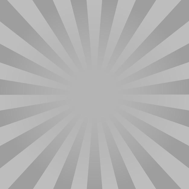 Monochrome stralen achtergrond Premium Vector