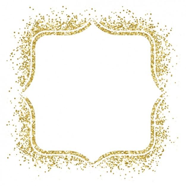 mooie gouden frame gemaakt met confetti vector gratis vector confetti png vector confetti gif