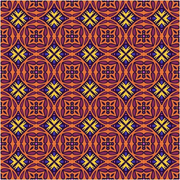 Mooie naadloze patroon abstracte achtergrond Premium Vector