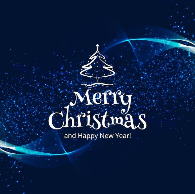 Mooie vrolijke kleurrijke de kaartachtergrond van de kerstmisviering Gratis Vector