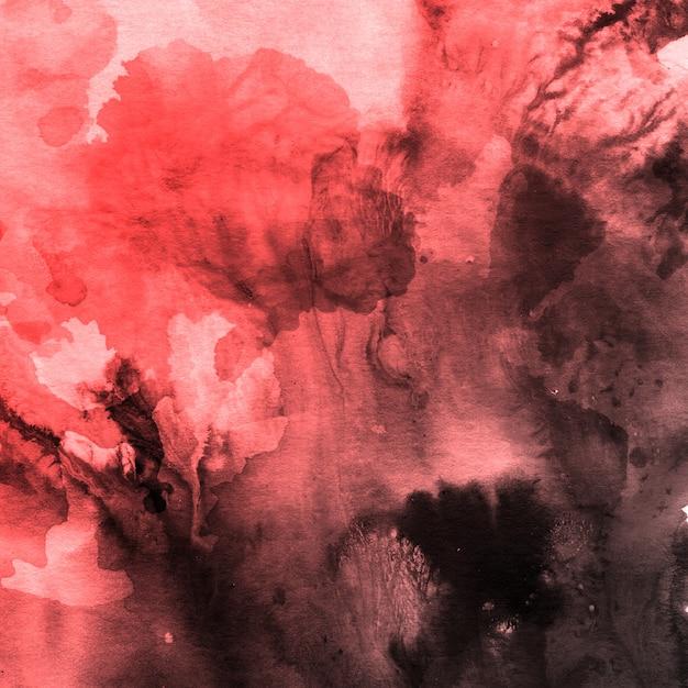 Mooie waterverfachtergrond met splatters Gratis Vector