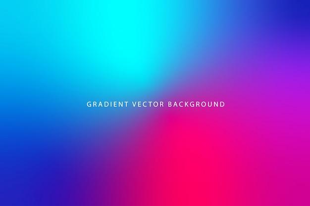 Mooie wazige achtergrond met kleurovergang Premium Vector