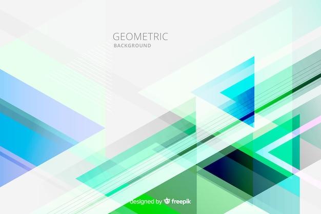 Multicolor geometrische achtergrond Gratis Vector