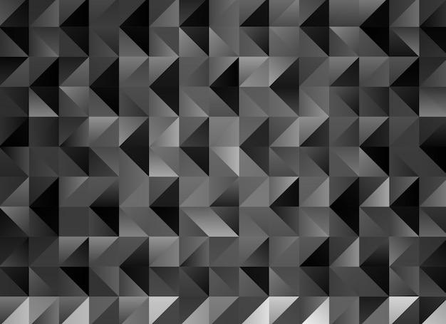 Multicolor grijze geometrische verkreukelde driehoekige laag poly stijl kleurovergang grafische achtergrond. Premium Vector