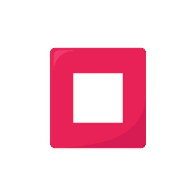 Multimedia-knop Gratis Vector