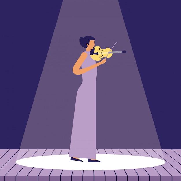 Muziek mensen instrumenten Gratis Vector