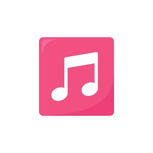 Muziek pictogram Gratis Vector