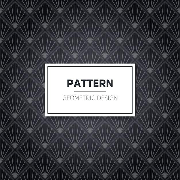 Naadloos geometrisch patroon Gratis Vector