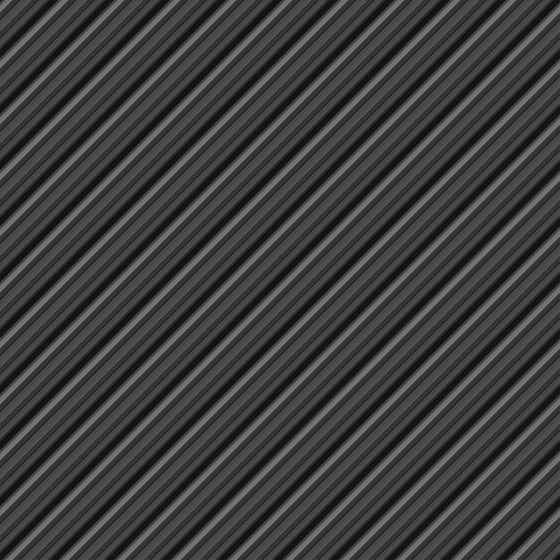 Naadloos grijs streeppatroon Premium Vector