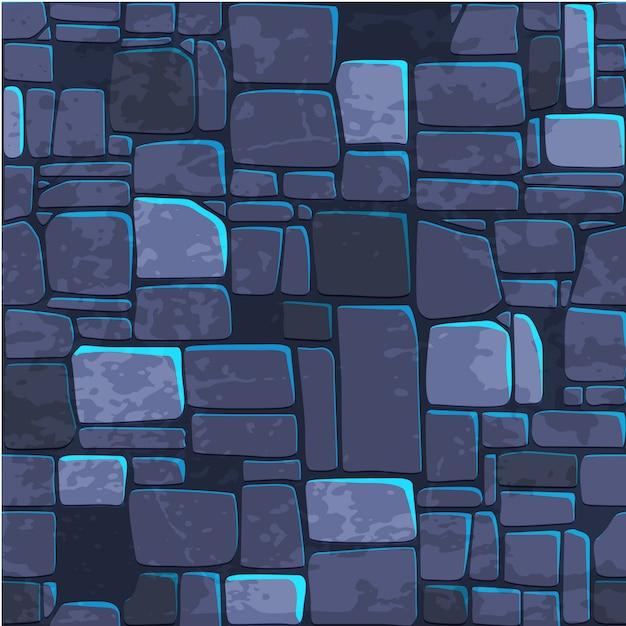 Naadloze achtergrond textuur arduinsteen muur. Premium Vector