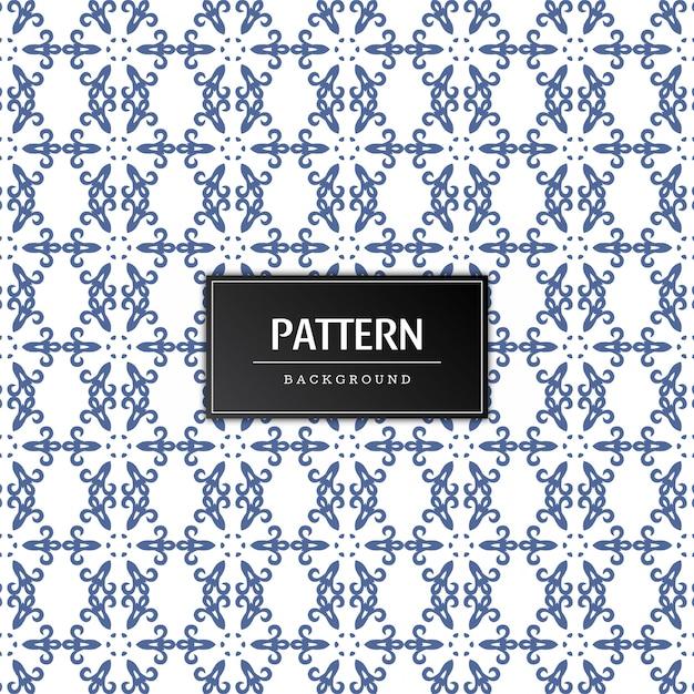 Naadloze patroon decoratieve vector Gratis Vector