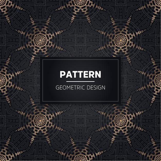 Naadloze patroon. vintage decoratieve elementen. hand getrokken achtergrond Gratis Vector